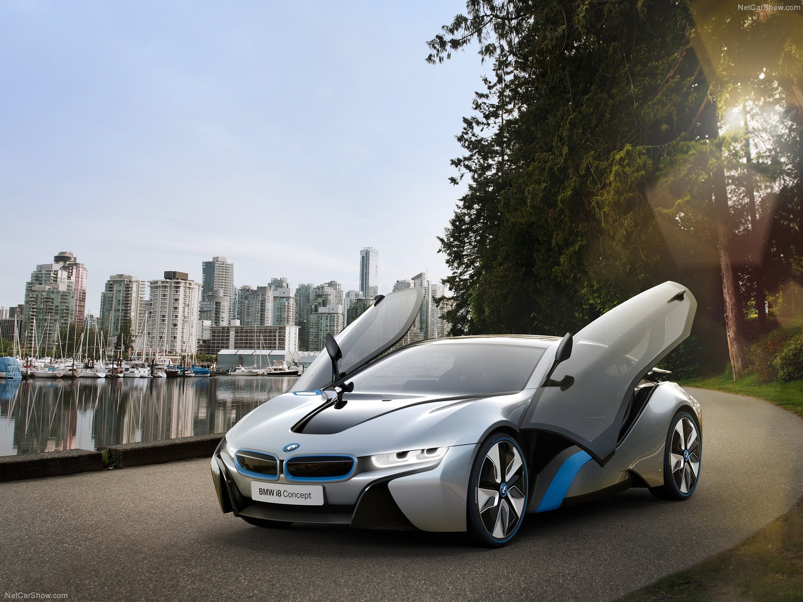 Bmw I8 Concept Super Car Plug In Hybrid Industry Tap