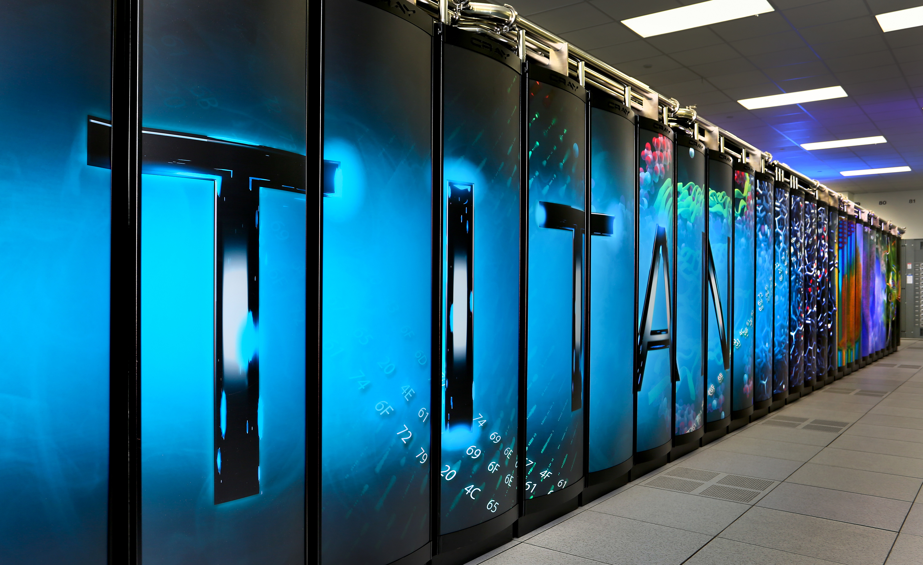 Titan supercomputer debuts for open scientific research