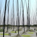Windstalks, Land Art Generating Power While Looking Good