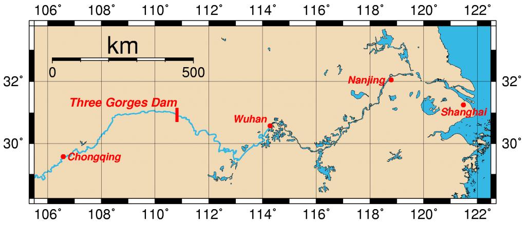 Three Gorges Dam - Yangtze River