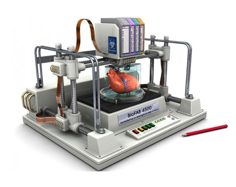 New Heart, Liver, Kidney or Eye in under 2 hours: Bioprinting