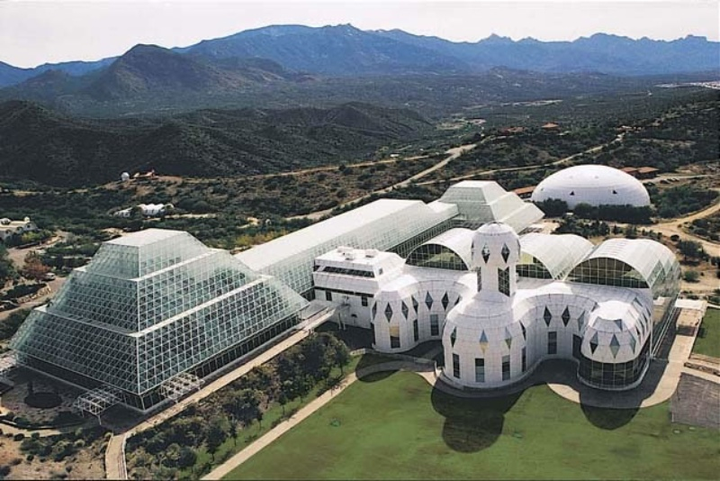 Pack Your Bags, Biosphere 2 Laboratory a Step to Colonizing Mars