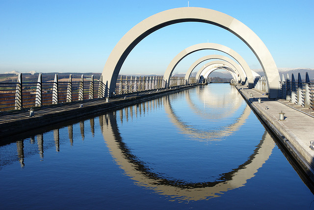What Difference Four Days Makes >> The Falkirk Wheel, Uniquely Scottish - Industry Tap
