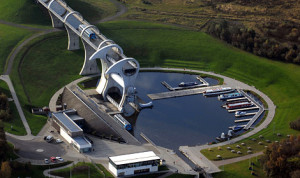 Lower Level of the Falkirk Wheel