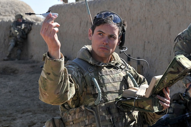 Afghanistan Deployed Palm-Sized Nano-Copter
