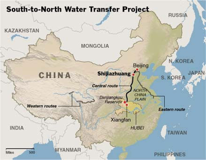Worlds largest canal will bring water to parched northern chinese china canal gumiabroncs Images