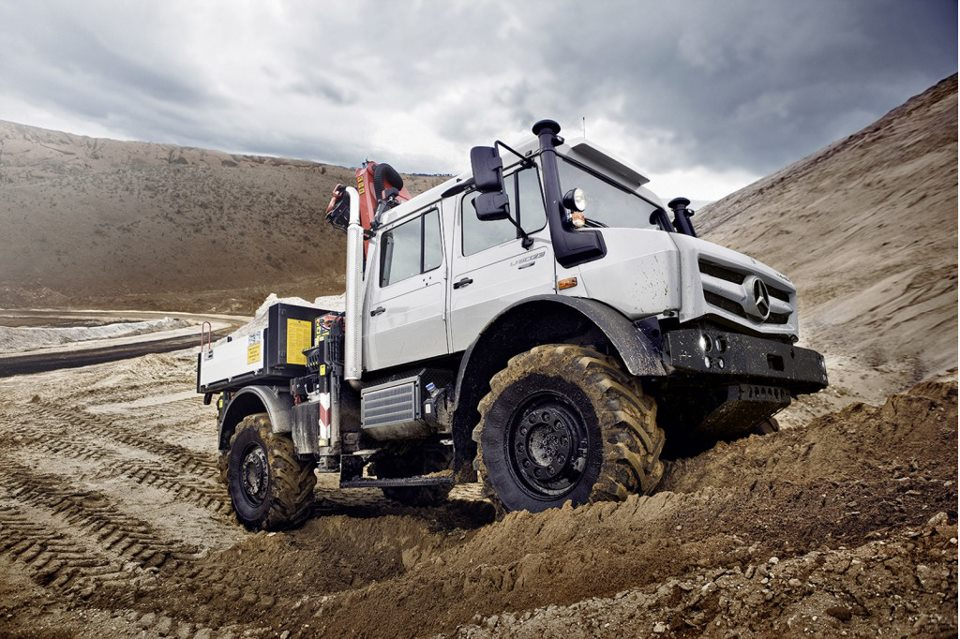 Mercedes-Benz Unimog, Work In Style