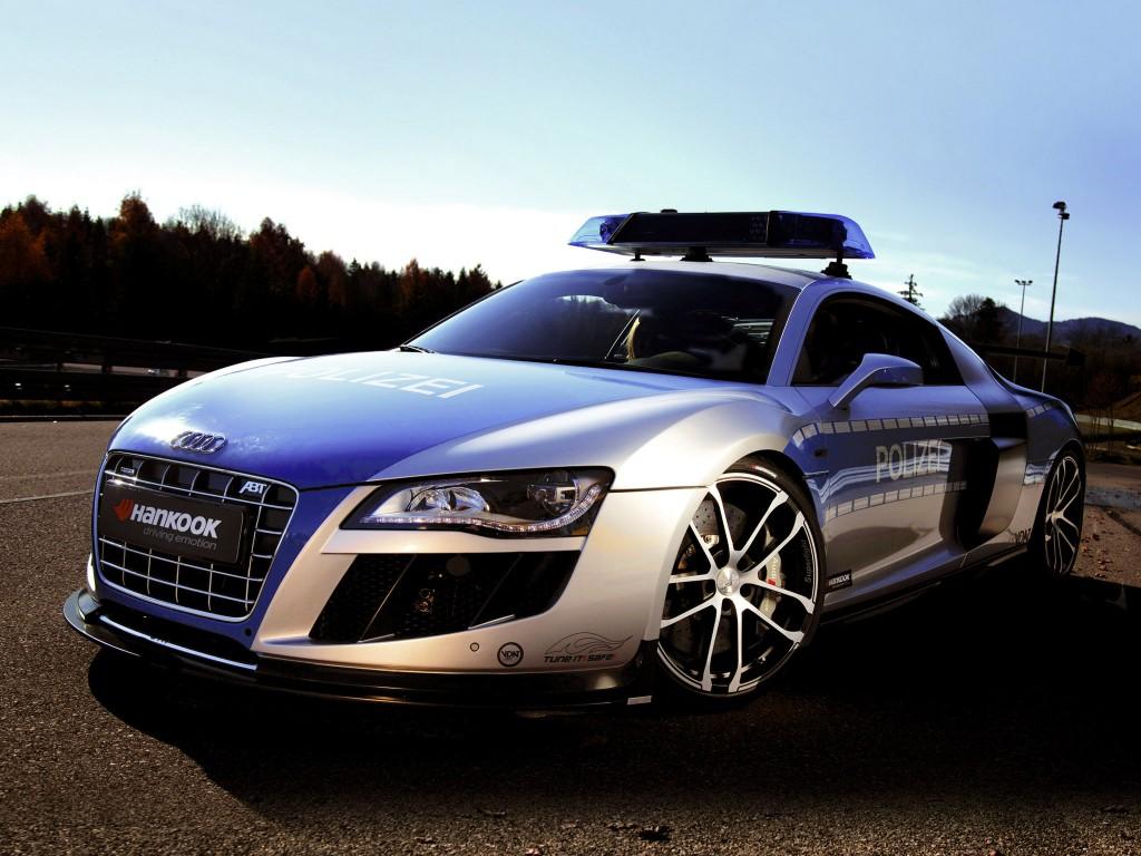 Audi-R8-GTR Police