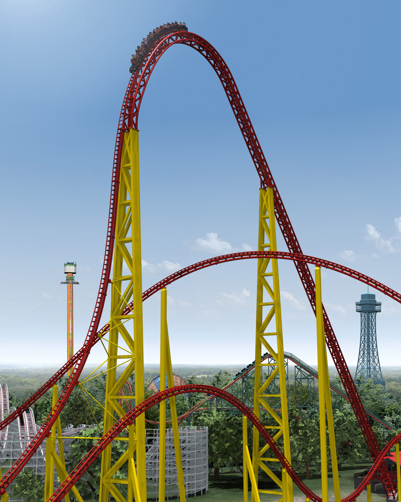 World S Most Beautiful: The World's Fastest And Tallest Roller Coasters