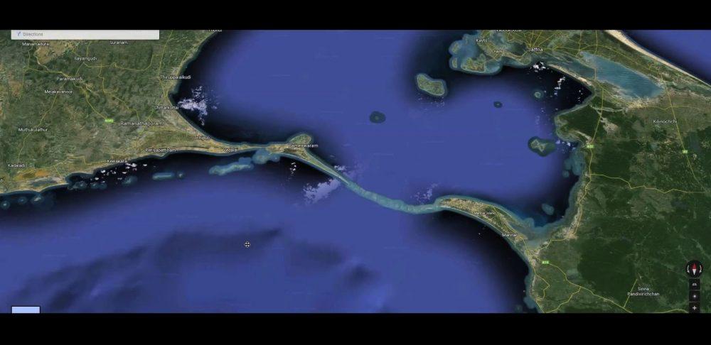 NASA Images Find 1.7 Million Year Old Man-Made Bridge