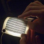 Flexible Solar Cells Mounted On Everyday 8.5 x 11 Paper