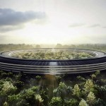 Apple's New Spaceship Campus Design In Cupertino California