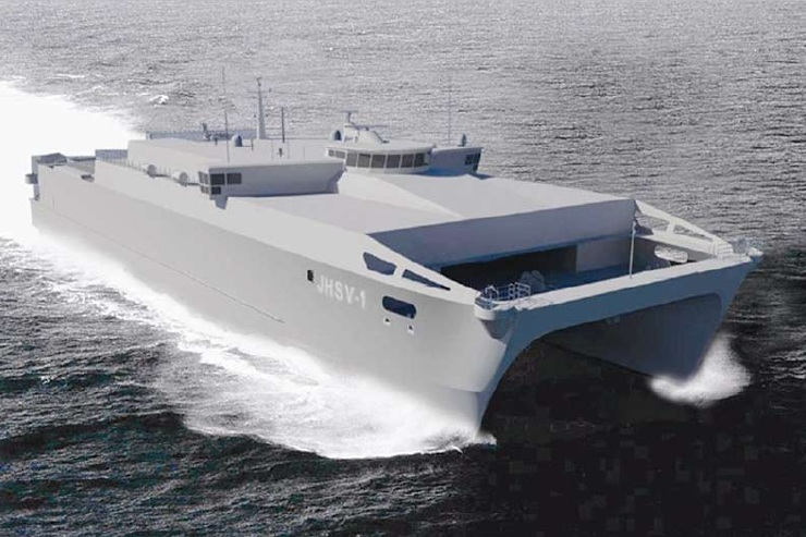 JHSV High-Speed Vessel Aluminum Catamaran
