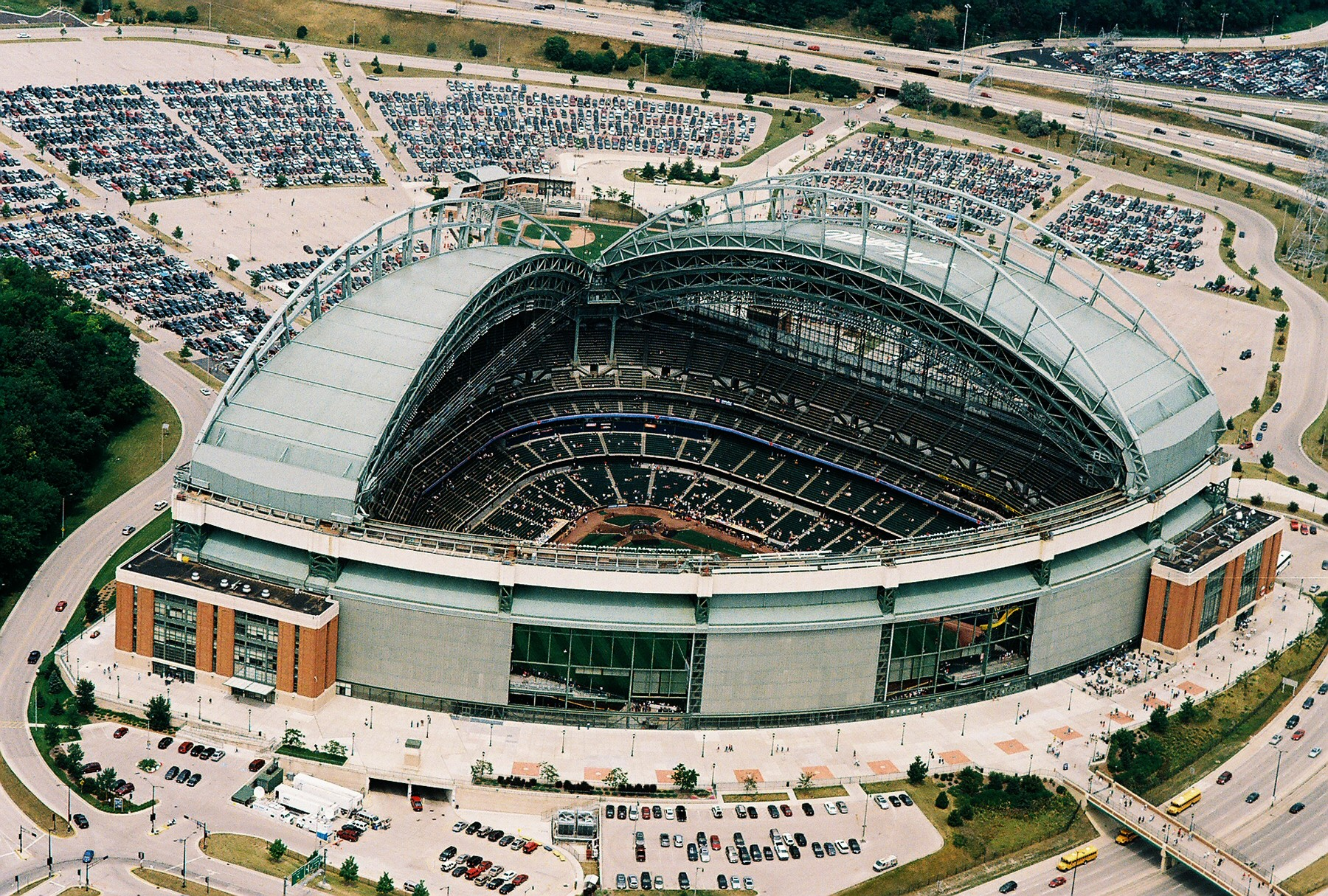 Miller Park Retractable Roof
