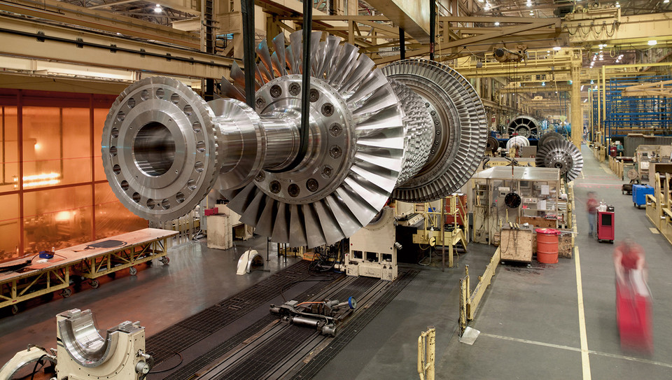 ge gas turbine market penetration