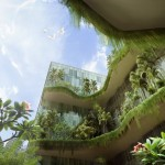 15,000 Square Meters Of Sky Gardens Connecting Singapore's Parkroyal On Pickering Hotel