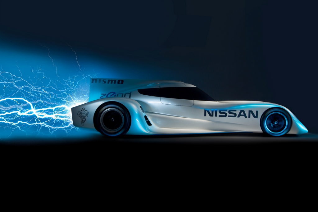 Nissan's Electric Race Car To Hit Speeds Over 180 MPH