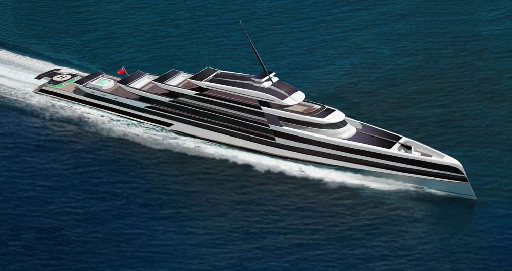 High Performance 200 Million Dollar Eco-Friendly Superyachts