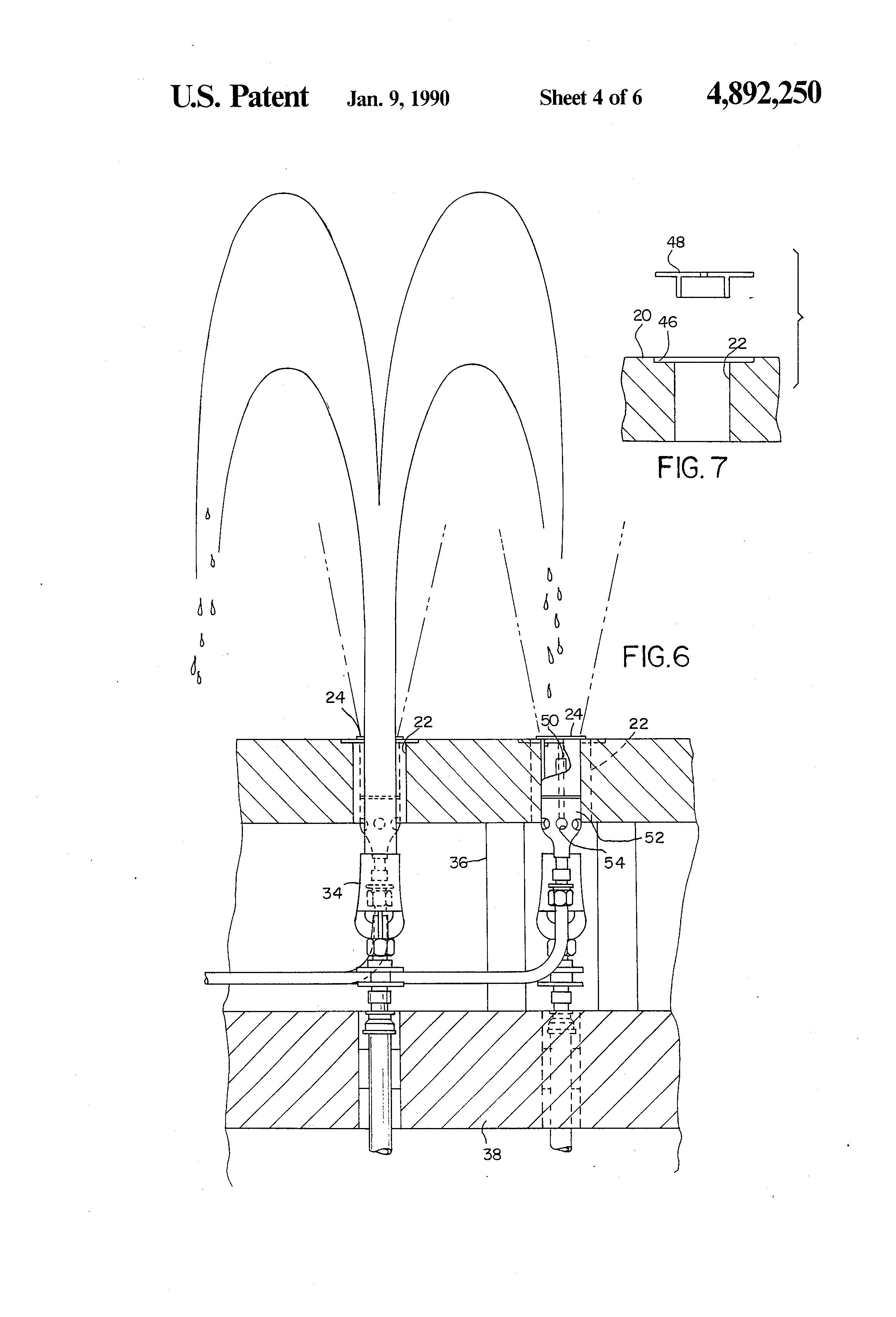 WET Design US Patent US:4,892,250