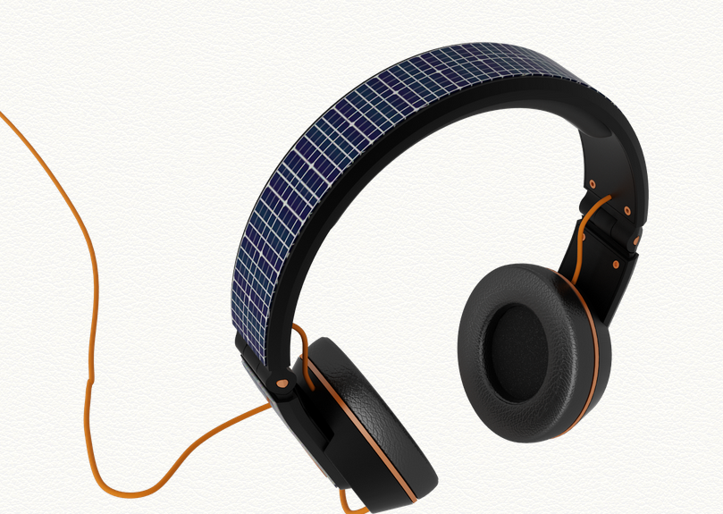 Solar Powered Headphones That Will Charge Your Phone