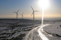 Wind turbine de=icing technology protects blades and keeps energy production at capacity - Image courtesy www.geograph.org.uk)