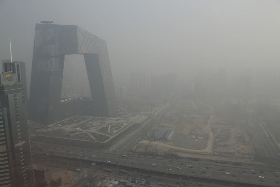 Carbon Footprints - China Beijing Smog