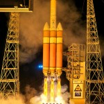 Biggest U.S. Rocket Launches Intelligence Gathering Satellite