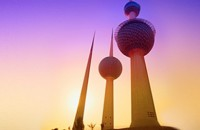 Sunrise Over Kuwait Towers - Source: www.flickriver.com