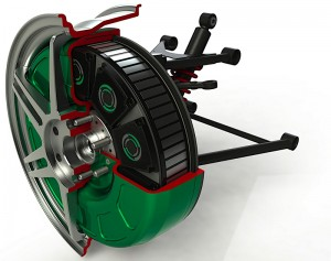 In-wheel Motor Assembly Photo © Protean Electric