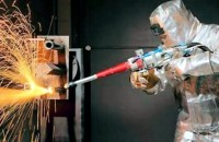 Handheld Laser Dismantling of Nuclear Power Plant