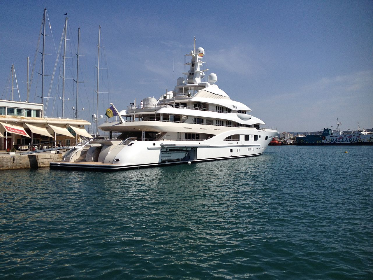 World S Largest Superyacht Comes With A Bullet Proof Master Suite