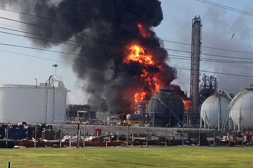 APTOPIX Plant Explosion