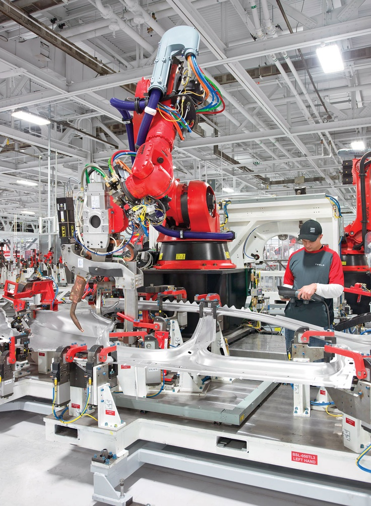 Tesla High Tech Factory
