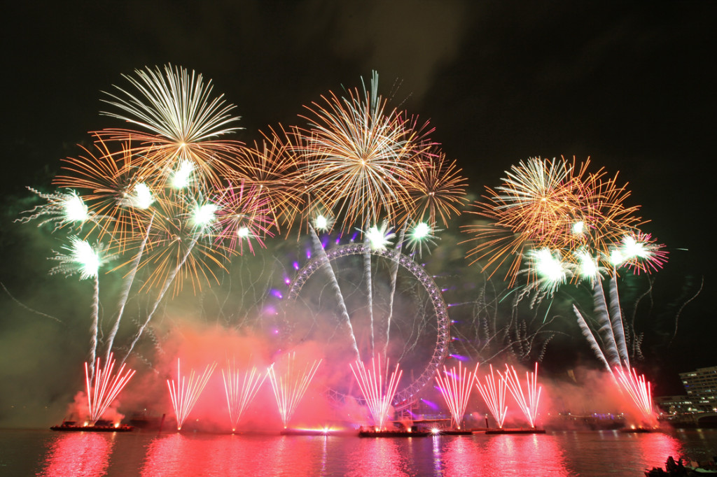 London Plans to Welcome 2014 with Edible Fireworks