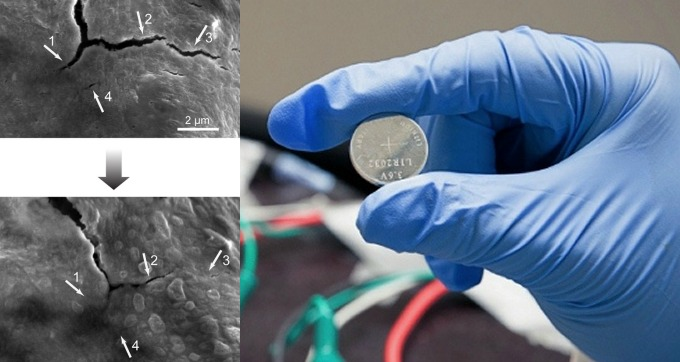 Researchers Charged Up about Self-Healing Battery