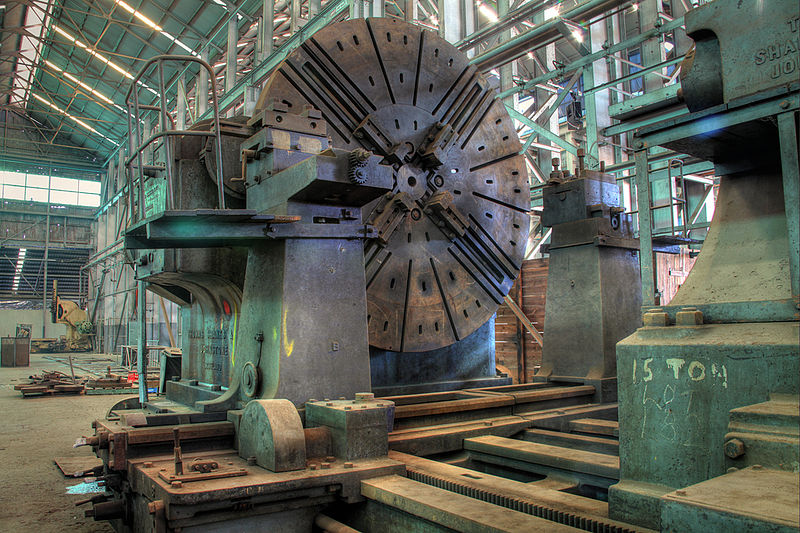 The World's Largest Lathe is For Sale