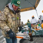Grilled Beers the Hottest Tailgating Activity at Freezing Packers Vs. 49ers Game