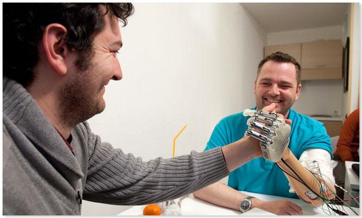 Bionic Limb Advances Reconnect the Patient's Sense of Touch