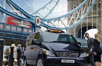 New taxi regulations will change how cabs fare in London starting January 1, 2018. Photo © Mercedes-Benz