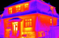 Want to know if someone's hiding in your house? Attach this gadget to your iPhone and get a thermal image. Photo © Flir One