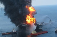 Deepwater Horizon is considered the largest accidental marine oil spill in history and cost 11 people their lives. Photo ©  Ideum / Flickr