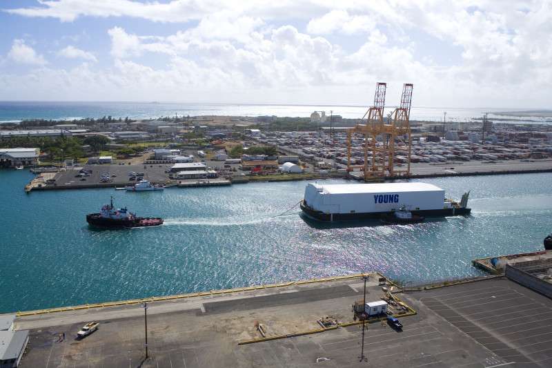Portable Hydrogen Fuel Cell Unit to Clean Up Port of Honolulu