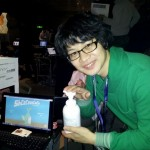 Designer's New Game Centers Around Lotion Bottle Controller