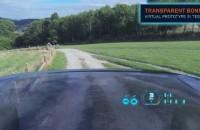 Transparent Car Hood Bonnet
