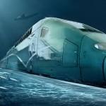 China Plans 8000+ Mile High Speed Underwater Railway to America