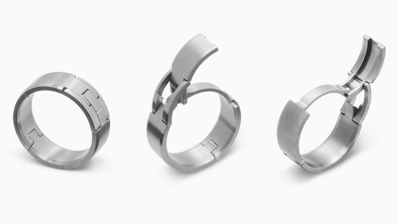 Revolutionary Concept Improves Wedding Rings For Men
