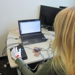 Vibrating Gloves Teach Braille in Minutes