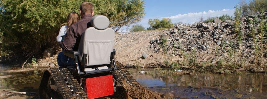 Tankchairs: US Veteran Invents Heavy Duty, Tank-Like Wheelchairs!