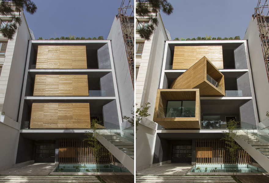 Space-Saving House Rotates Rooms with the Push of a Button