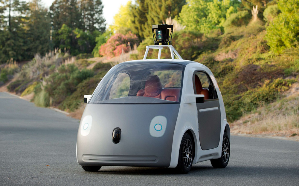 Shared Automated Vehicles Google Car